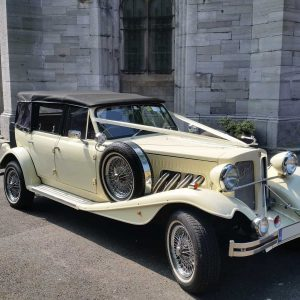 Cream 1930s Beauford Convertible